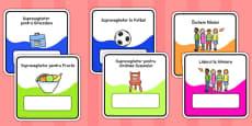 Sarcini pentru copii - Cartonașe
