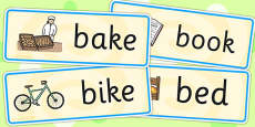 Initial b Sound Word Cards