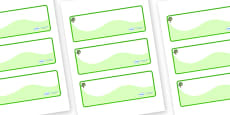 Sycamore Themed Editable Drawer-Peg-Name Labels (Colourful)