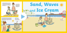 Exploring My World - Sand, Waves and Ice Cream Story PowerPoint