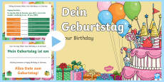 Birthday PowerPoint German