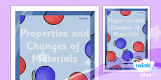 PlanIt - Science Year 5 - Properties and Changes of Materials Unit Book Cover