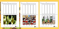 Harvest Photo Number Sequencing Puzzle