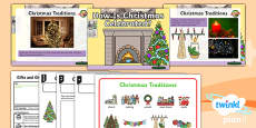 PlanIt - RE Year 1 - Gifts and Giving Lesson 2: How is Christmas Celebrated? Lesson Pack