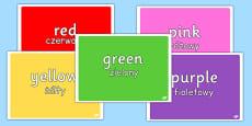 Colours Photo Pack Polish Translation