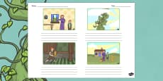 Jack and the Beanstalk Storyboard Template