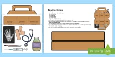 Role Play Doctors Bag Activity English/German