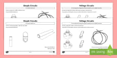 Electric Circuits Pupil Prompt Sheets