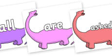 Tricky Words on Apatosaurus to Support Teaching on Harry and the Bucketful of Dinosaurs