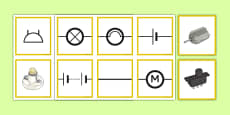 Matching Informal and Scientific Circuit Symbols