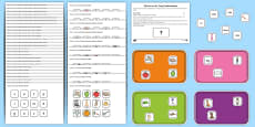 What's on the Tray? Phase 2 to 6 Letters and Sounds Memory Activity Pack