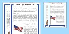September 11th Fact File USA