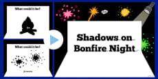 Bonfire Night Themed Shadow PowerPoint