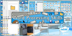 Computing: Word Processing Skills Year 1 Unit Additional Resources