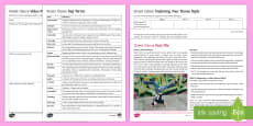 * NEW * Street Dance Activity Pack
