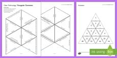 Gene Technology Tarsia Triangular Dominoes
