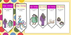Editable Bookmarks to Support Teaching on The Twits