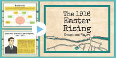 1916 Rising Powerpoint Groups and Personalities PowerPoint