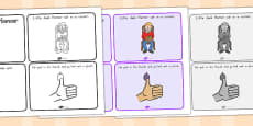 Little Jack Horner Story Sequencing 4 per A4 (Australia)