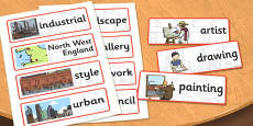 LS Lowry Word Cards