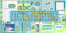 PlanIt - Geography Year 4 - All Around the World Unit Additional Resources