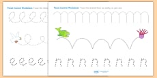 Pencil Control Sheets to Support Teaching on Sharing a Shell