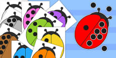 Give the Ladybugs 10 Spots Number Bond Activity