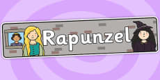 Rapunzel Display Banner (Indoor)