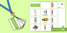 Lanyard-Sized Pictorial Communication Cards