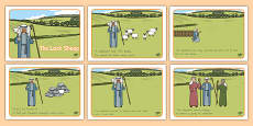 The Lost Sheep Story Sequencing
