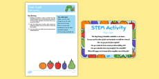 Yum Yum STEM Activity and Prompt Card Pack to Support Teaching on The Very Hungry Caterpillar