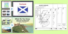 Scotland Lesson Teaching Pack