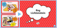 Roy Lichtenstein Information PowerPoint
