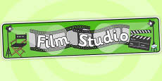 Film Studio Role Play Banner