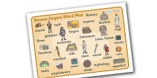 Roman Empire Word Mat