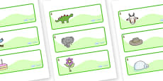 Larch Tree Themed Editable Drawer-Peg-Name Labels