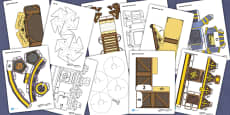 Nativity Paper Model Resource Pack