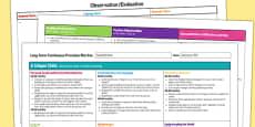 Mud Kitchen Editable Continuous Provision Plan Nursery FS1