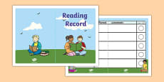 Reading Record Booklet