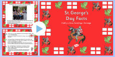 St George\'s Day Information PowerPoint Polish Translation