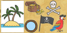 Pirates Role Play Display Pack