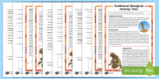 * NEW * Traditional Aboriginal Hunting Tools Differentiated Reading Comprehension Activity