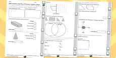 Year 3 Maths Assessment: Geometry - Properties of Shapes Term 2