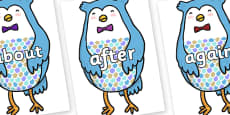 KS1 Keywords on Owl