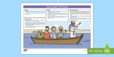 Jesus Calms the Storm Lesson Plan and Enhancement Ideas