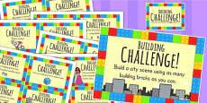 Australia - Building Block Challenge Cards