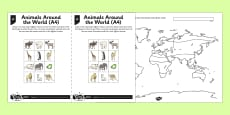 Mapping World Climates Activity Sheet