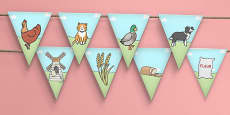 The Little Red Hen Bunting