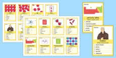 Atoms, Elements and Compounds Can You Guess? Cards