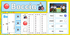 The Paralympics Boccia Resource Pack